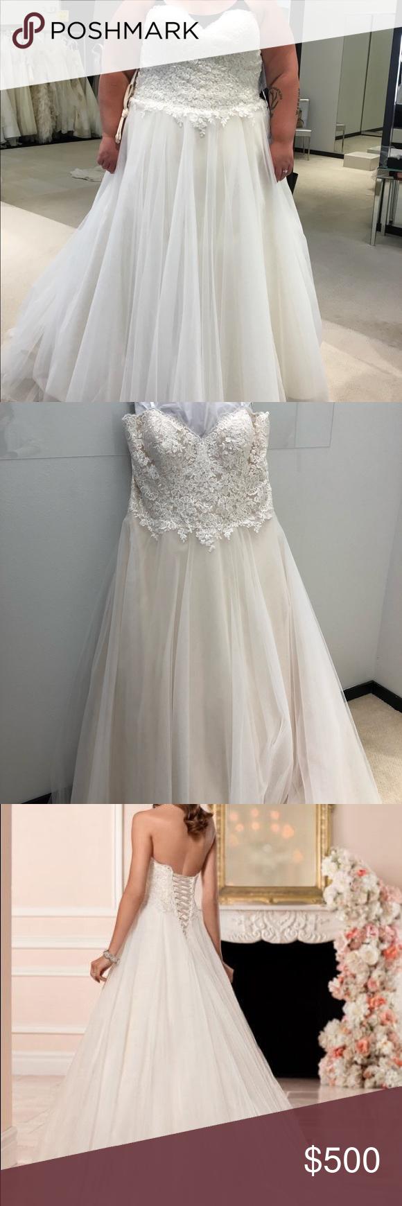 Size 24 wedding dress  Stella York Wedding Dress  Brand New NWT  Pinterest  Wedding