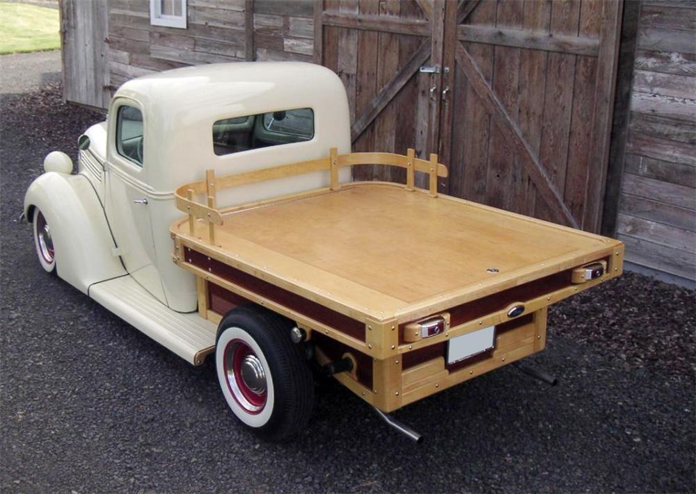 Wood Truck Flatbed 1938 Ford Custom Flatbed Woody Truck Barrett
