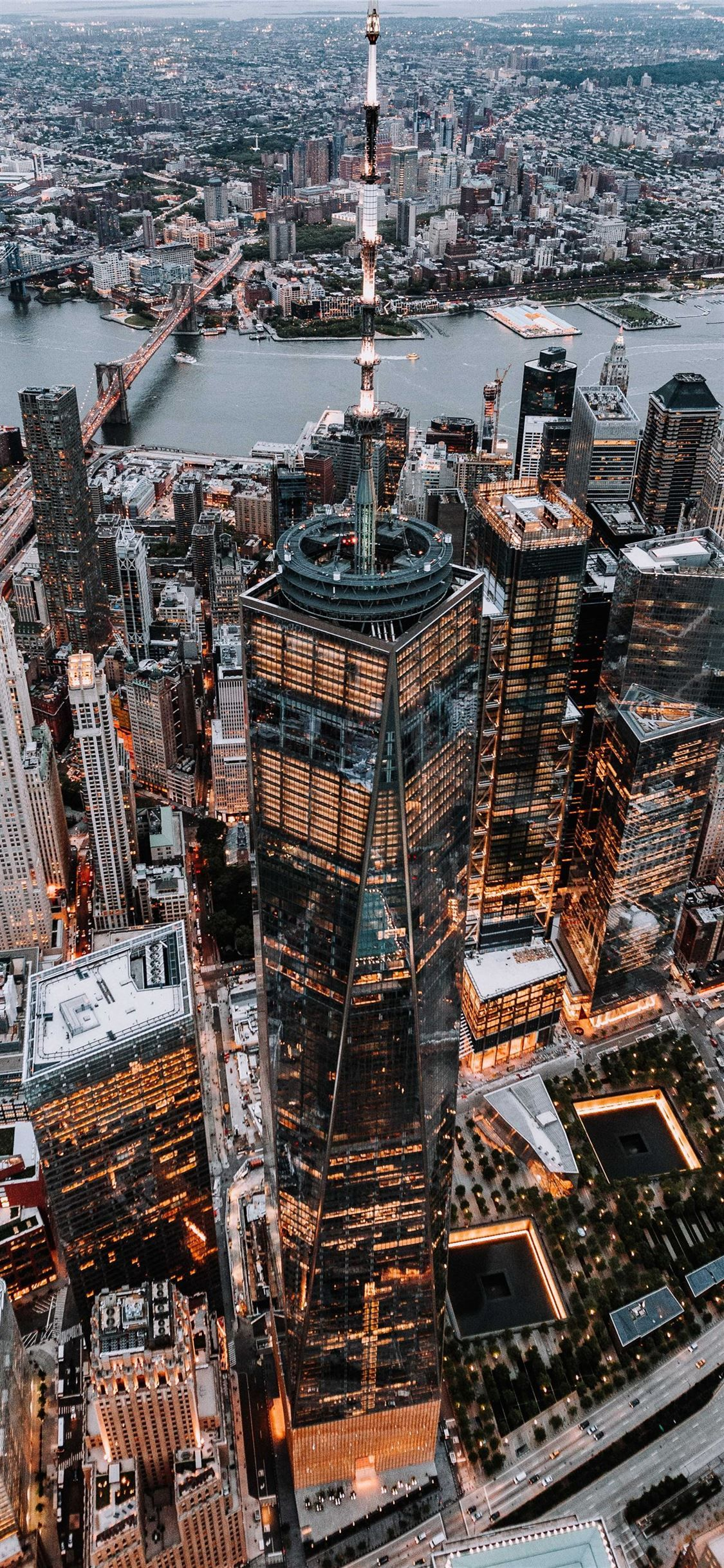 Brown And Black High Rise Building Landscape Nature Scenery Newyork City Worldtradebuilding Unitedstate In 2020 City Wallpaper City Aesthetic New York Wallpaper