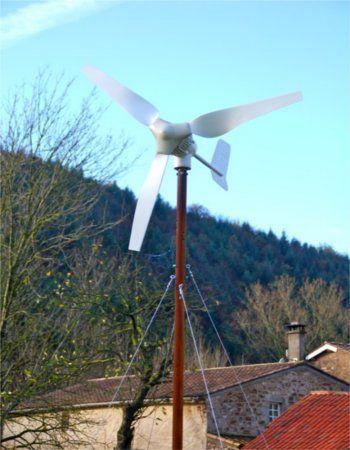 Comment construire une éolienne soi même et economiser sur votre - Panneau Solaire Chauffage Maison