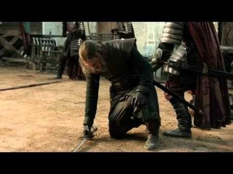 Jaime Lannister Vs Eddard Stark Lightsaber Battle