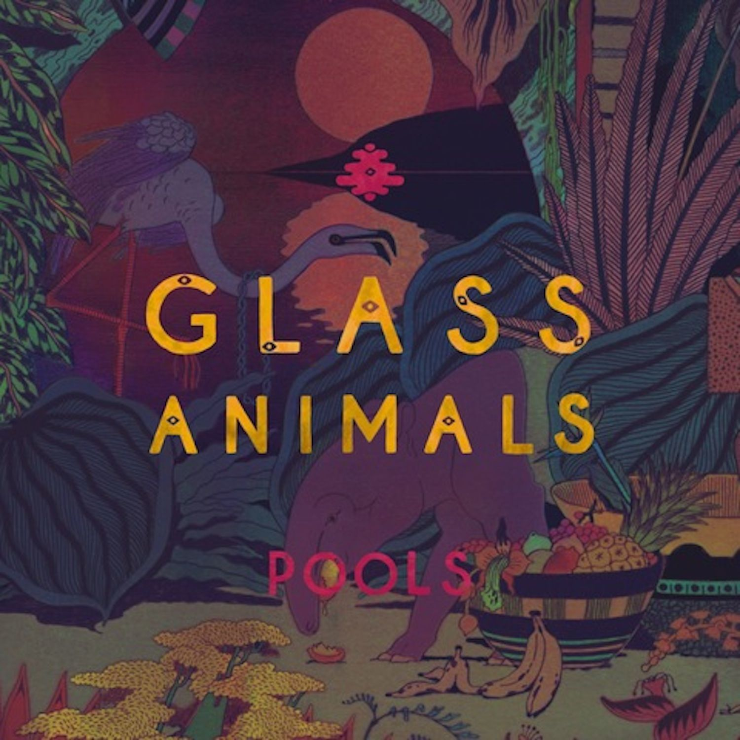 Glass Animals Pools Glass Animals Glass Animals Lyrics Animal Wallpaper