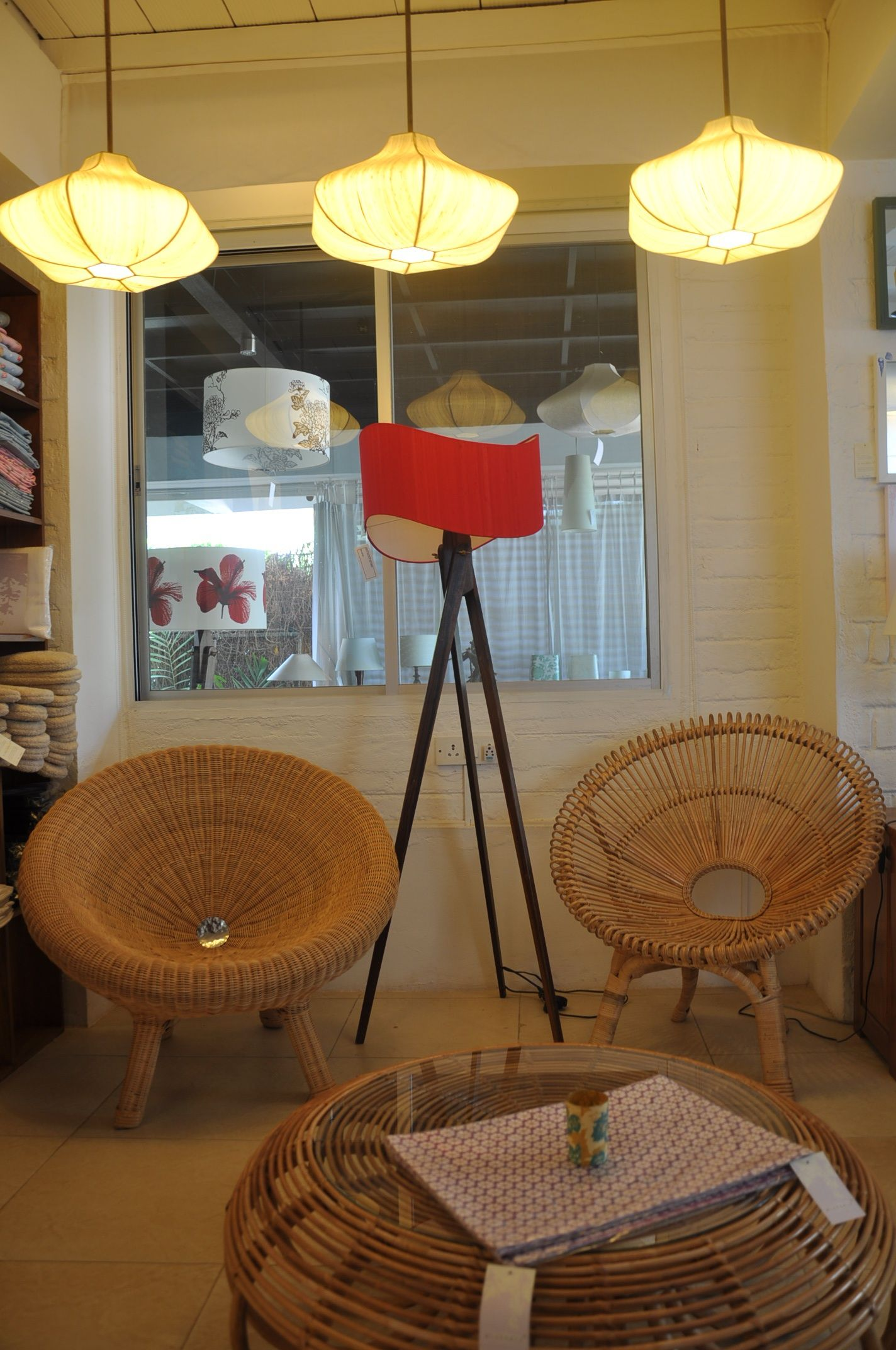 rattan spiral chair wong chair with tripod helice lamps from