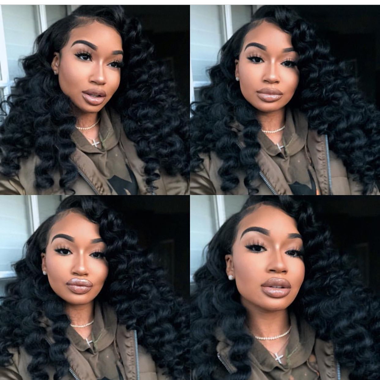 Quick weavesew in idea beat face pinterest quick weave black