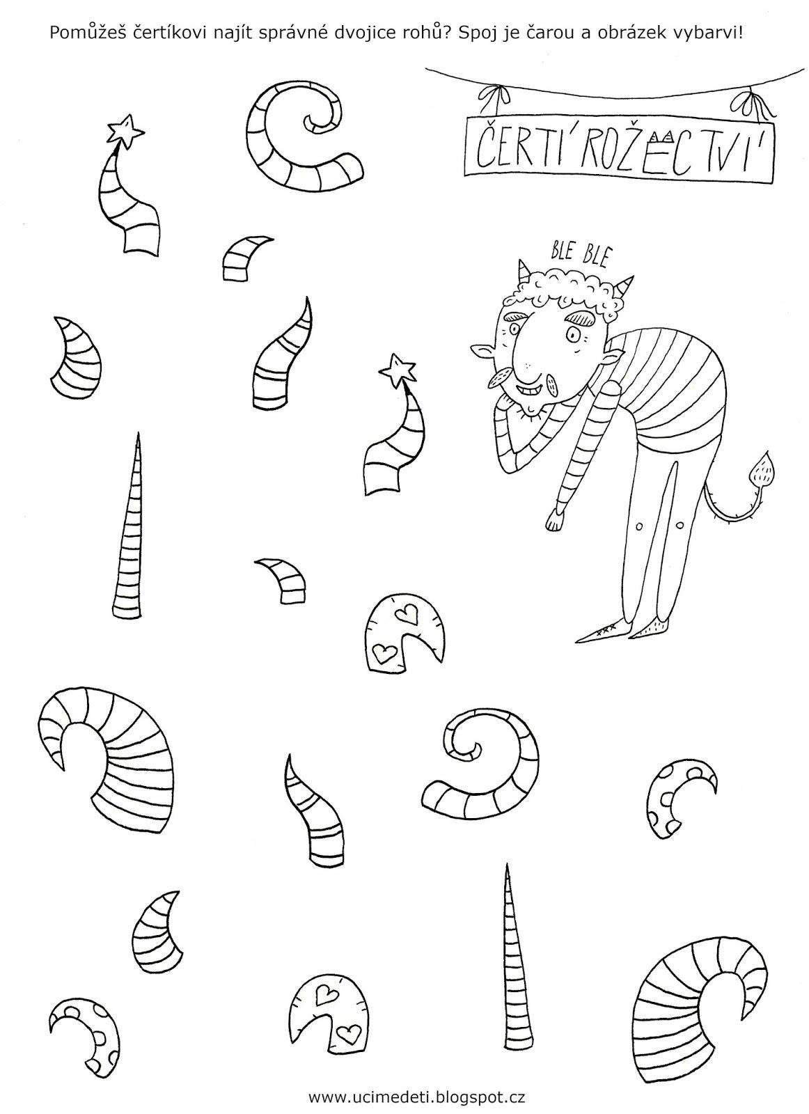 Grafomotorick List Erti Rohy