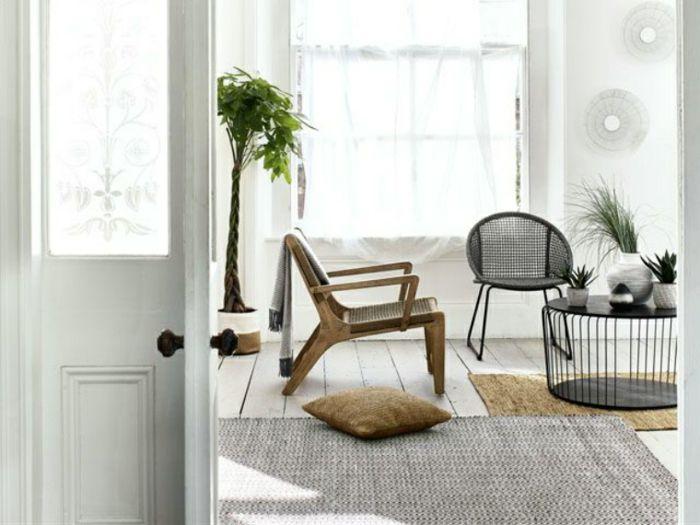 1001 + Ideen für moderne Wohnzimmer Landhausstil