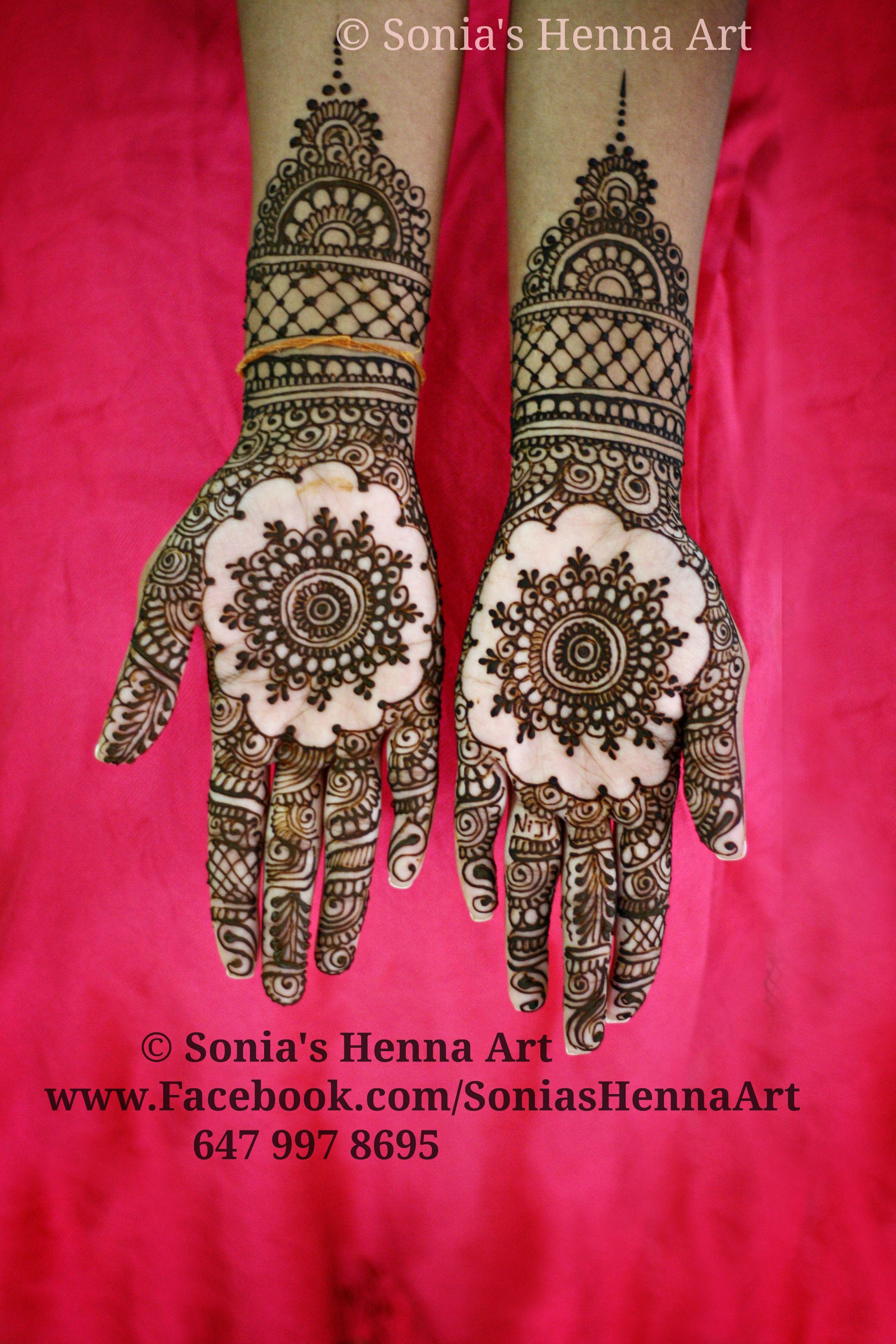 Mehndi Hand Decoration Games : Copyright � sonia s henna art bridal artist desi