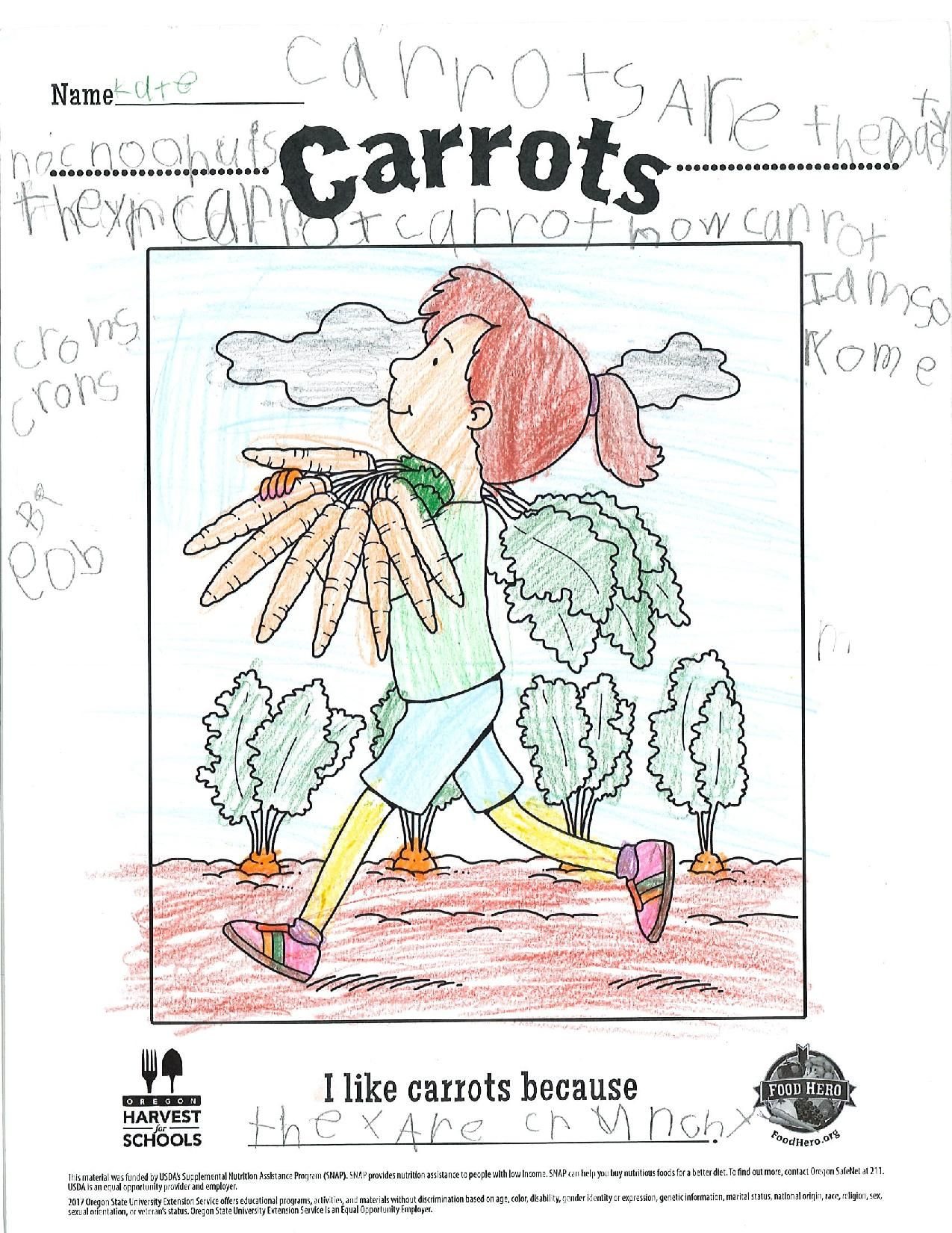 Pin By Food Hero Osu Extension On Kids Art