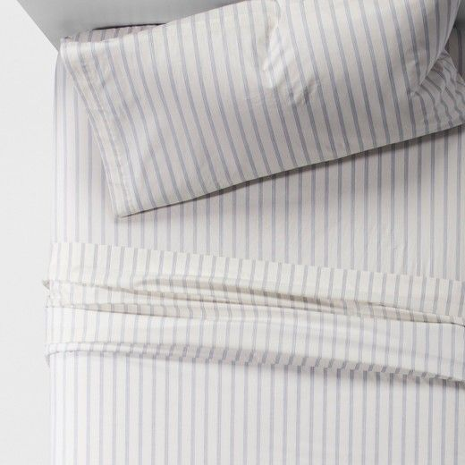 Vintage Washed Percale Sheet Set from Threshold