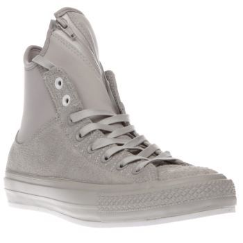 Converse Light Grey All Star Ma-1 Se Hairy Suede Delivering supreme comfort  and flexibility with a contemporary aesthetic, the Converse Chuck Taylor All  ...