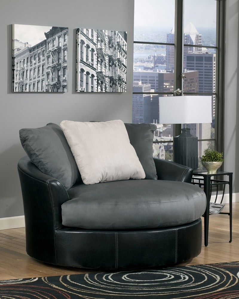 Masoli Cobblestone Oversized Swivel Chair 499 Http Www Dfwfurniture Com Living Room Furniture Sofa Sets Couch Furniture Trending Decor Leather Accent Chair