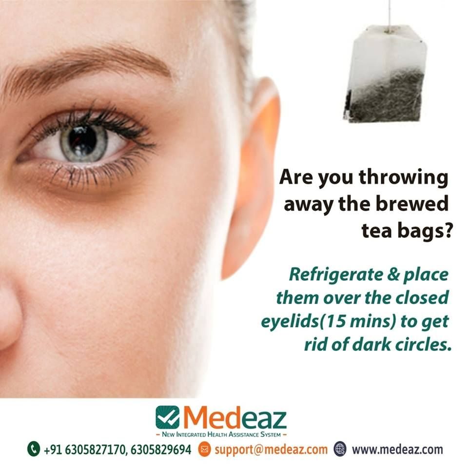 Are you throwing away the brewed tea bags brewing tea