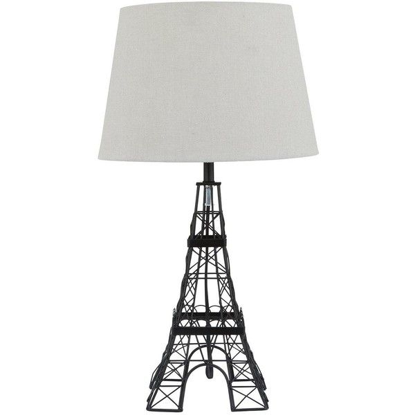 Eiffel tower table lamp 26 liked on polyvore featuring home eiffel tower table lamp 26 liked on polyvore featuring home lighting aloadofball Images