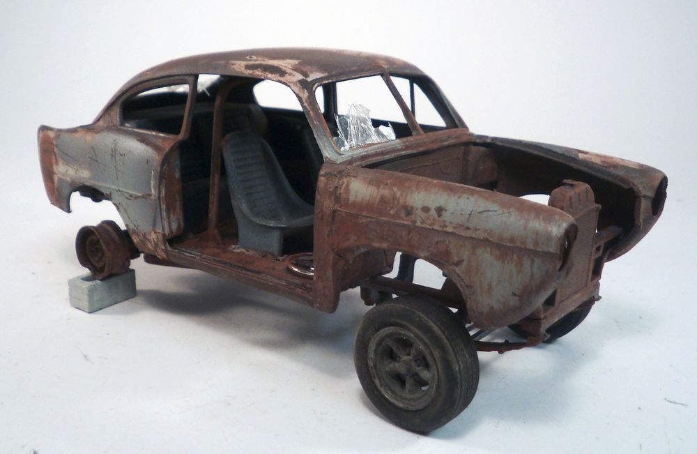 1951 Henry J Gasser Pro Built Weathered Barn Find Junkyard Custom 1 25 Revell