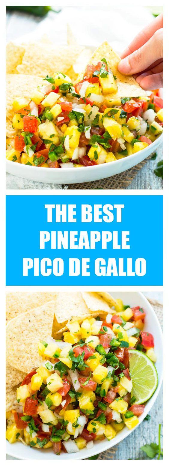 #Easy Recipes #Recipe >>The Best Pineapple Pico de Gallo - Cook pad USA #picodegallorecipes
