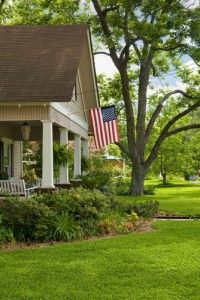 For The Front Of Every Home The American Flag Types Of Architecture My Dream Home