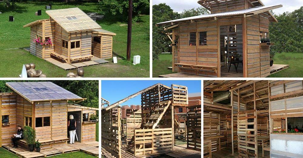Voici Comment Construire Une Maison En Palette En Un Seul Jour