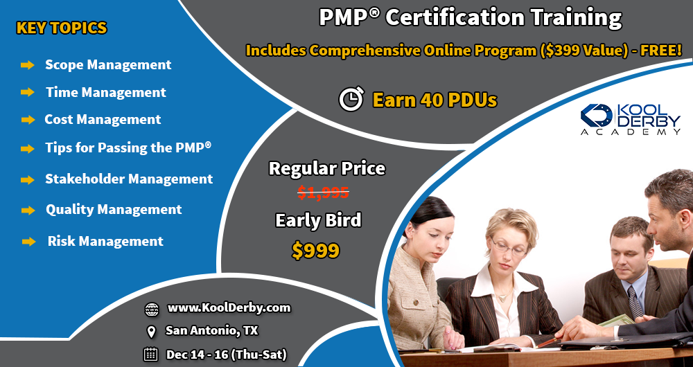 Enroll For Our 3 Days Pmp Certification Training And Ace The Pmp