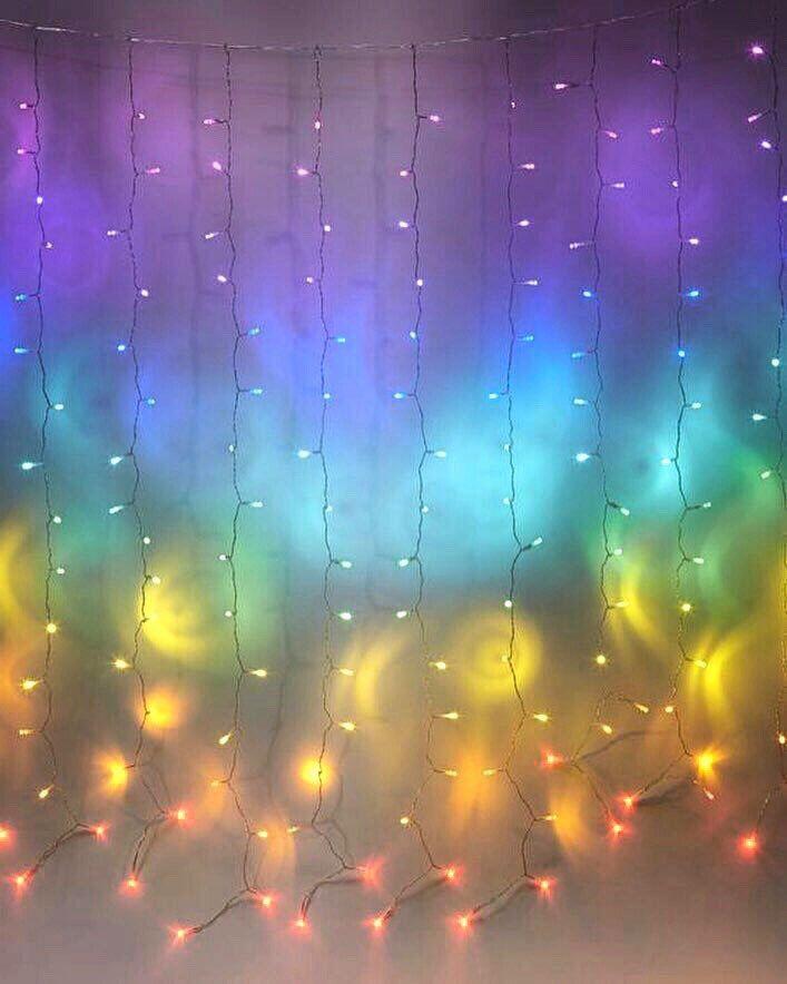 Best Pin By Ann Vu On For Moodboard Rainbow Curtains Unicorn 640 x 480