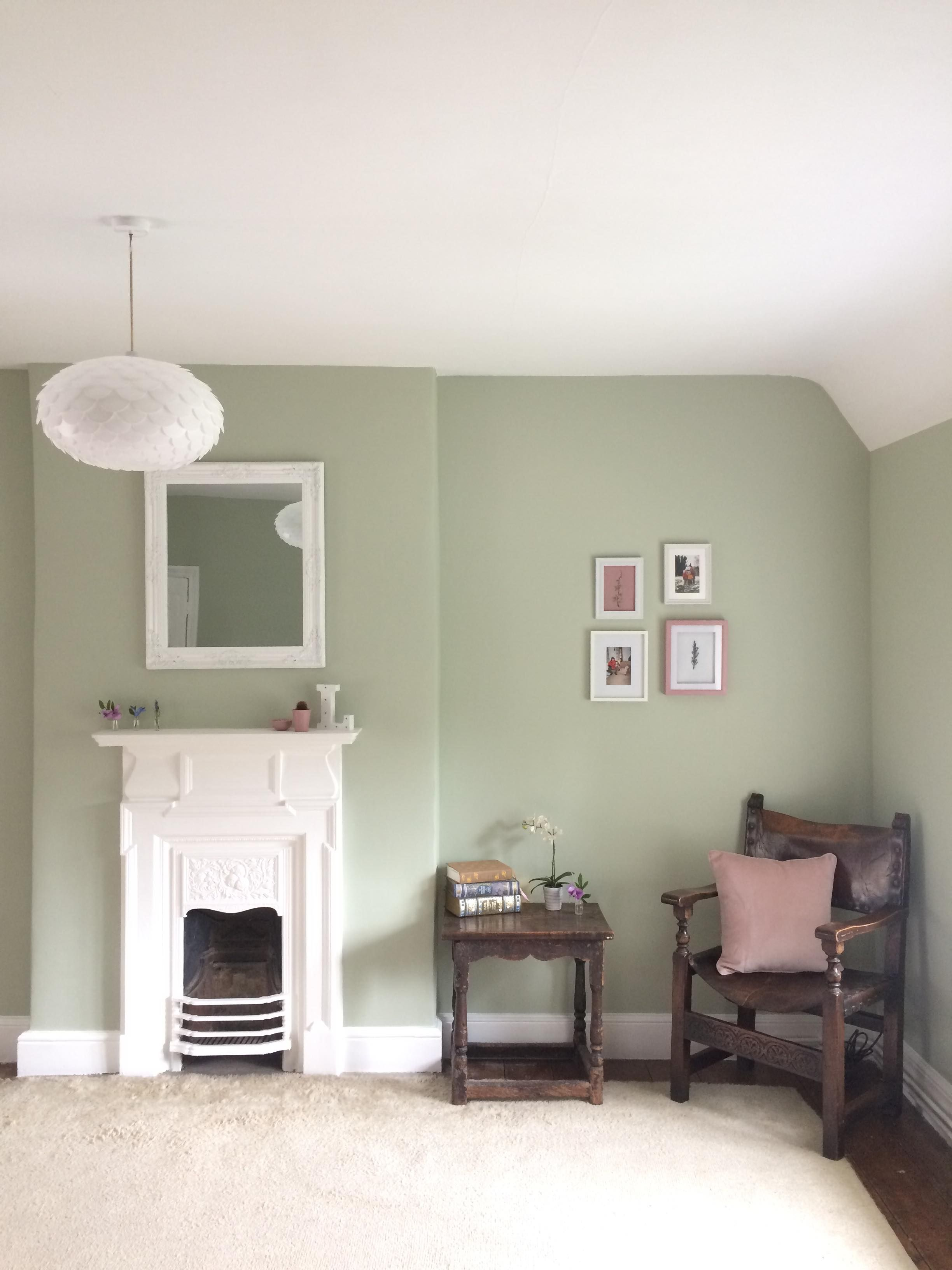 Lydia S Bedroom Sage Green And Dusky Pink Scheme Reading