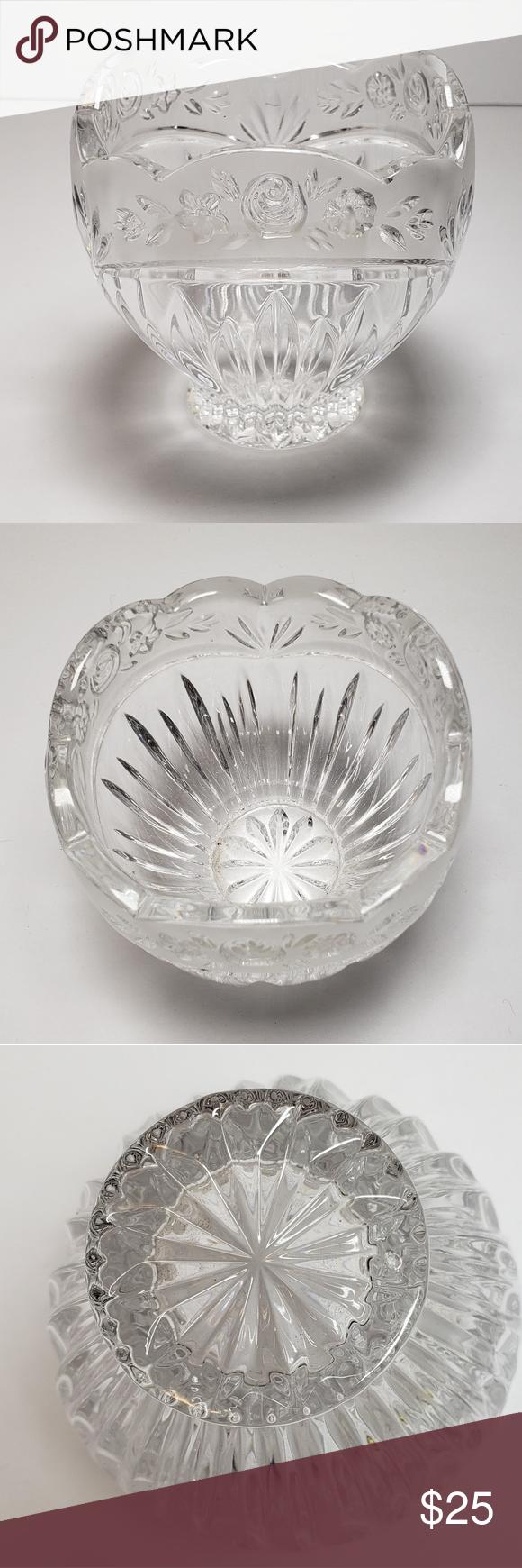 Bleikristal 24% Lead Crystal Bowl
