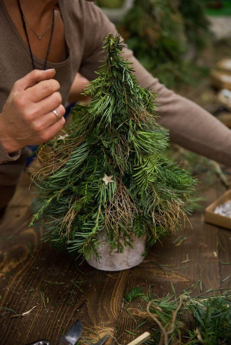Workshop Rückblick Winterdeko aus Naturmaterialien von Kreativ-Natürlich-Ideen... - Handwerk #eventideascreative