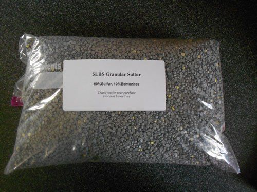 40LBS Sulfur Granular Sulphur Garden Pellets Soil *** You