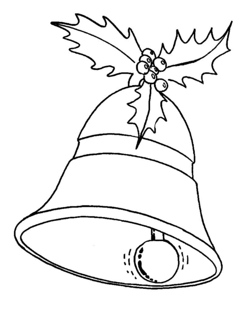 Christmas Bells Coloring Pages Procoloring Christmas