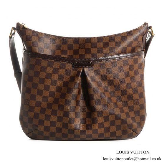 e4032437ef0f Louis Vuitton N42250 Bloomsbury GM Crossbody Bag Damier Ebene Canvas ...