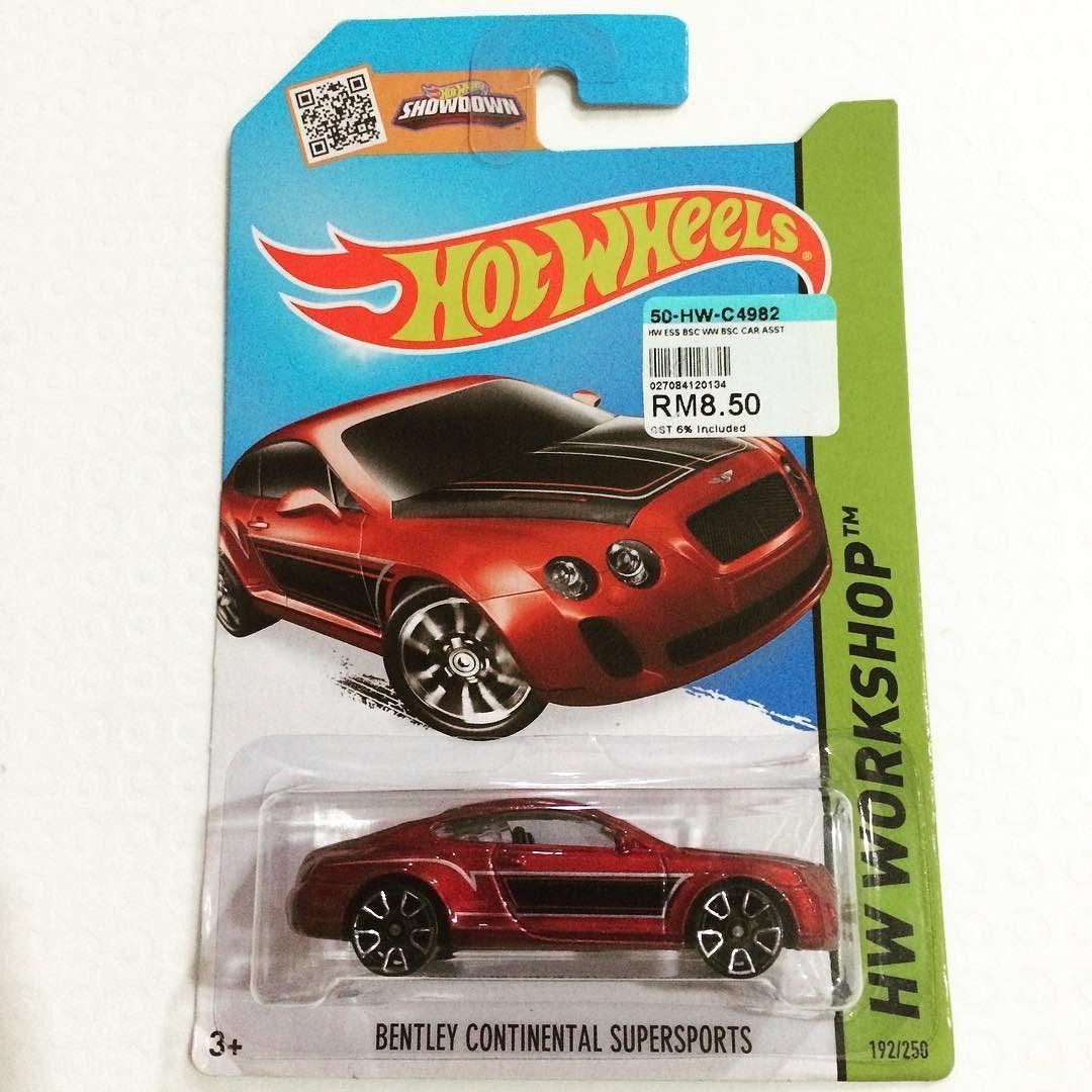 B toys car wheel  Bentley Continental Supersports HW Workshop Year  u  Mattel