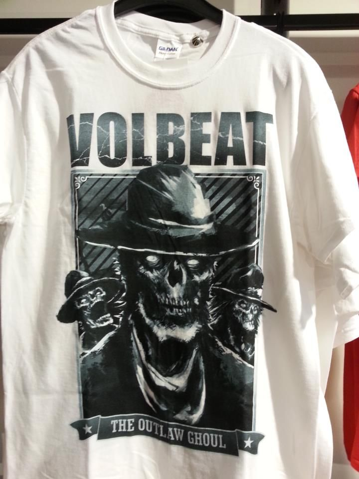 La T-Shirt dei #Volbeat Outlaw Frame