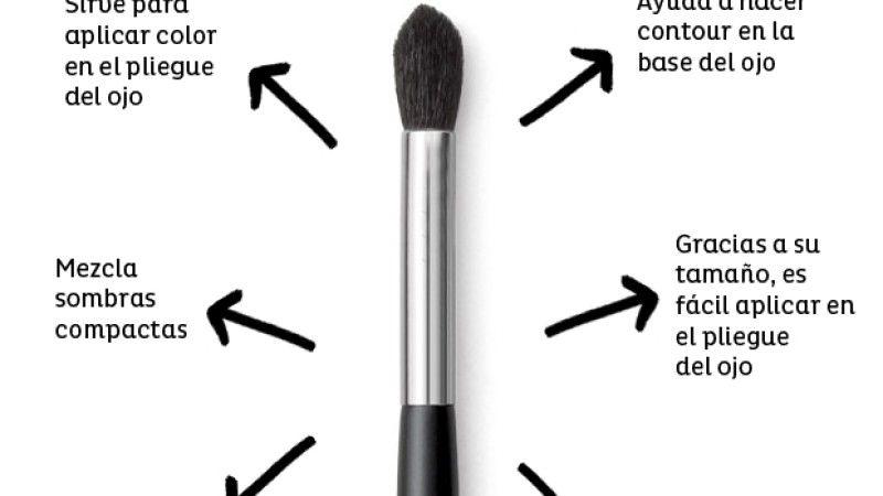 Guía básica de pinceles para ojos