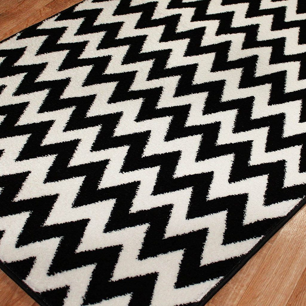 Black And White Chevron Bath Rugs  Black And White Quilts Inspiration Black And White Bathroom Rugs Review