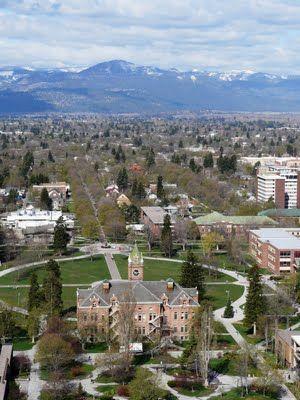 Missoula Montana Missoula Montana University Of Montana Montana Skies