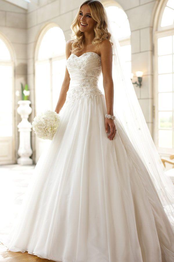 Verschiedene Brautkleider - 2015 Bilder | Kleider 2015 | Pinterest ...