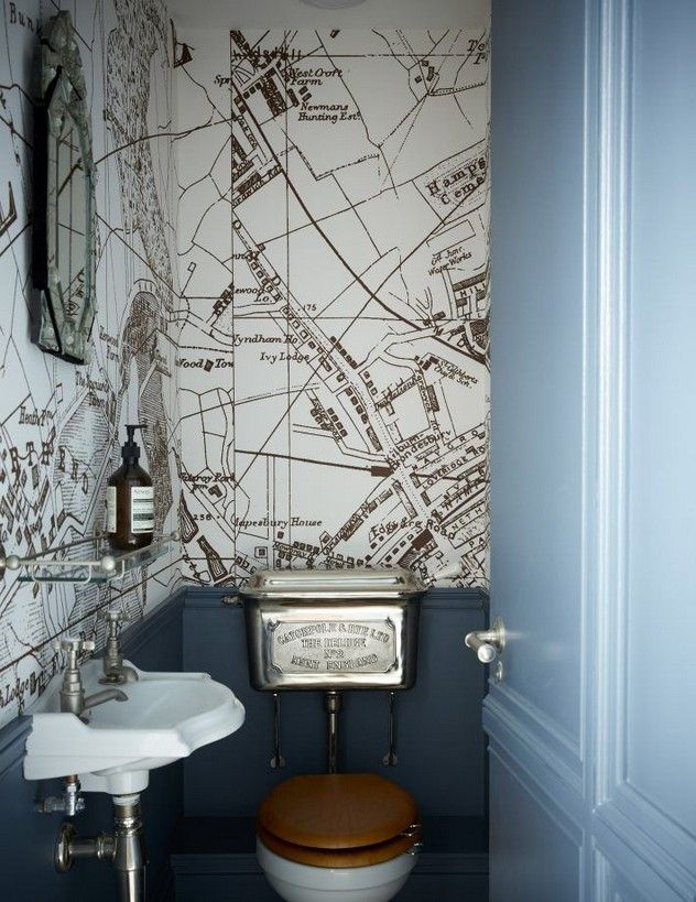 Downstairs toilet ideas small wallpaper 1 #downstairstoilet