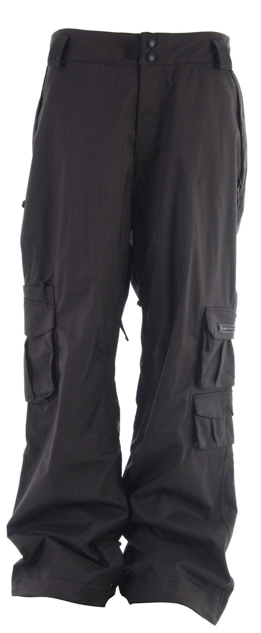 Ride Belltown Ski Snowboard Pants Black Mens
