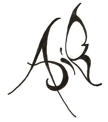 Tattoo Designs Letter B: The Letter A Original Design