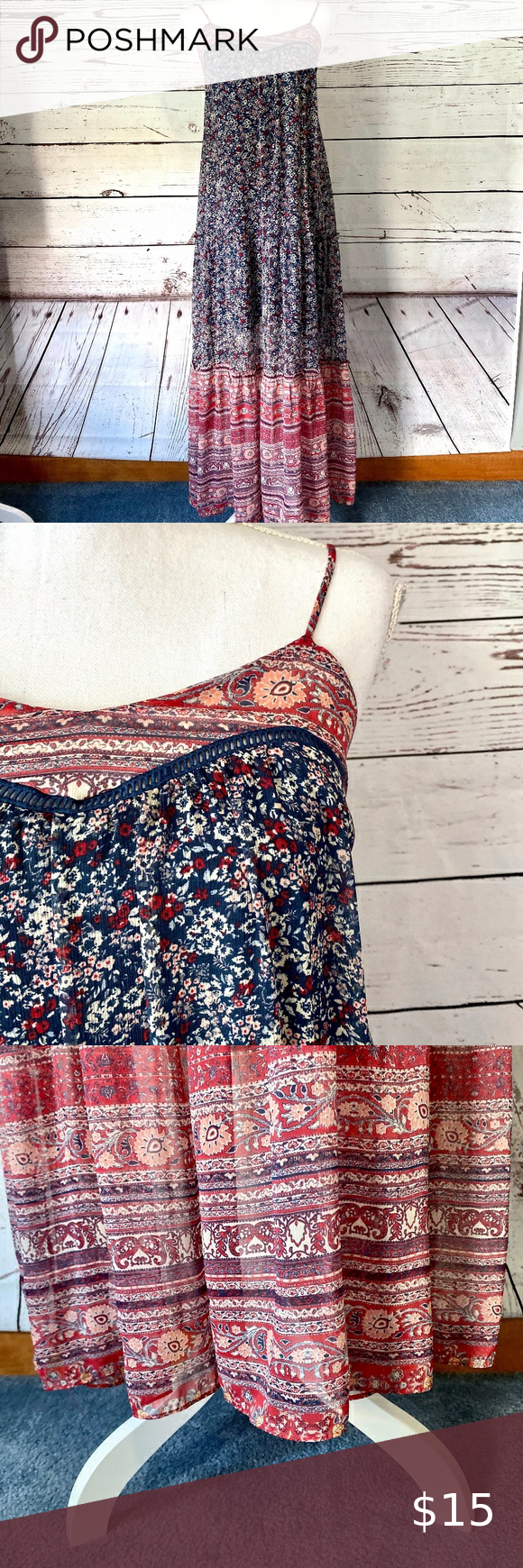 Women S Xhilaration Maxi Dress S In 2020 Xhilaration Maxi Dress Dresses [ 1740 x 580 Pixel ]