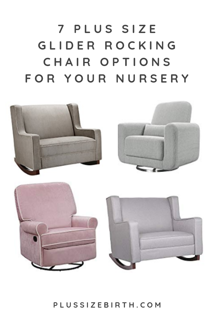 7 Extra Wide Glider And Plus Size Rocking Chair Nursery Options