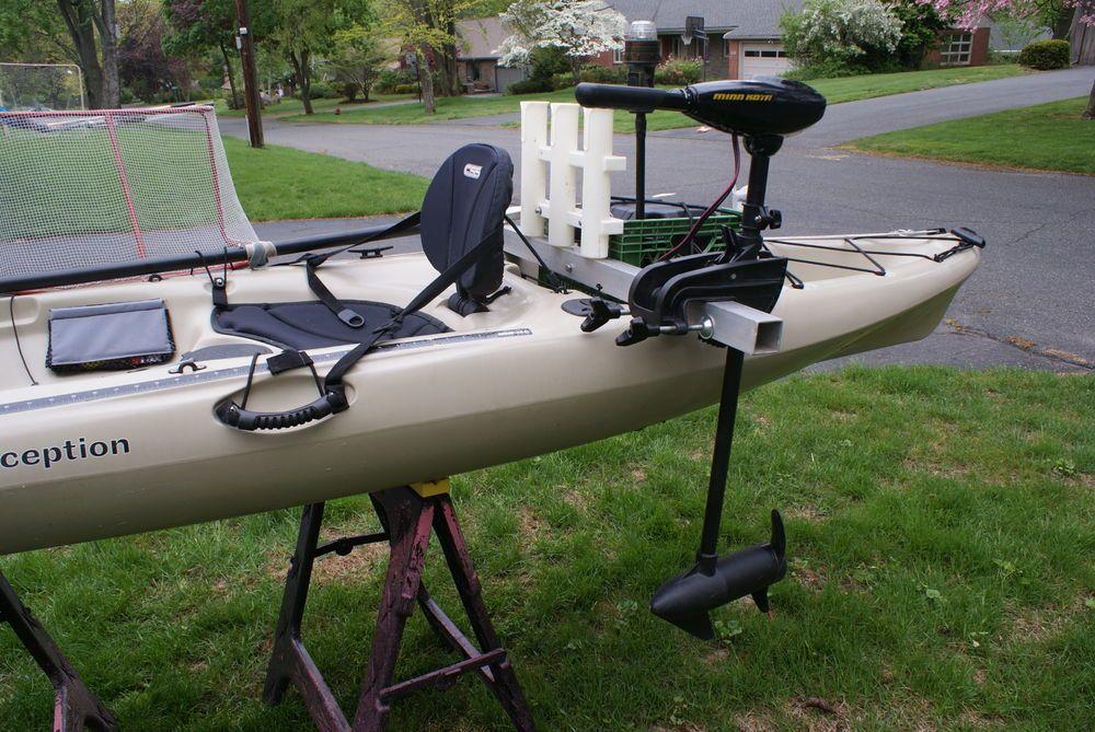 Kayak fishing setup google search fishing kayak for Trolling motor on sale