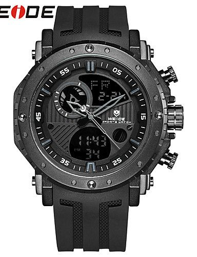 701fd446f72d WEIDE Hombre Reloj Deportivo Reloj de Moda Reloj de Vestir Reloj digital  Japonés Digital Calendario Resistente