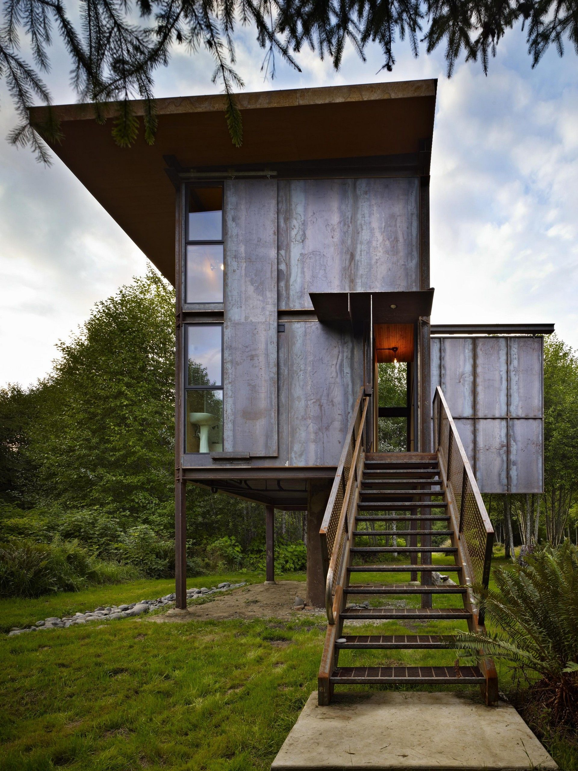 Sol Duc Cabin By Olson Kundig Places House Tiny House Design