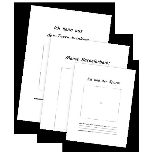 Hier Stelle Ich Euch Ein Paar Vorlagen Zur Portfoliogestaltung In Der Krippe Kostenlos Zur Verfugung Geschichten Fur Kinder Portfolio Kindergarten Vorlagen