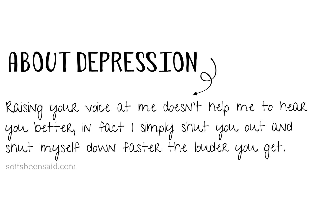 Quotes To Help Depression Pinsoitsbeensaid On Quotes Arrangedme  Pinterest