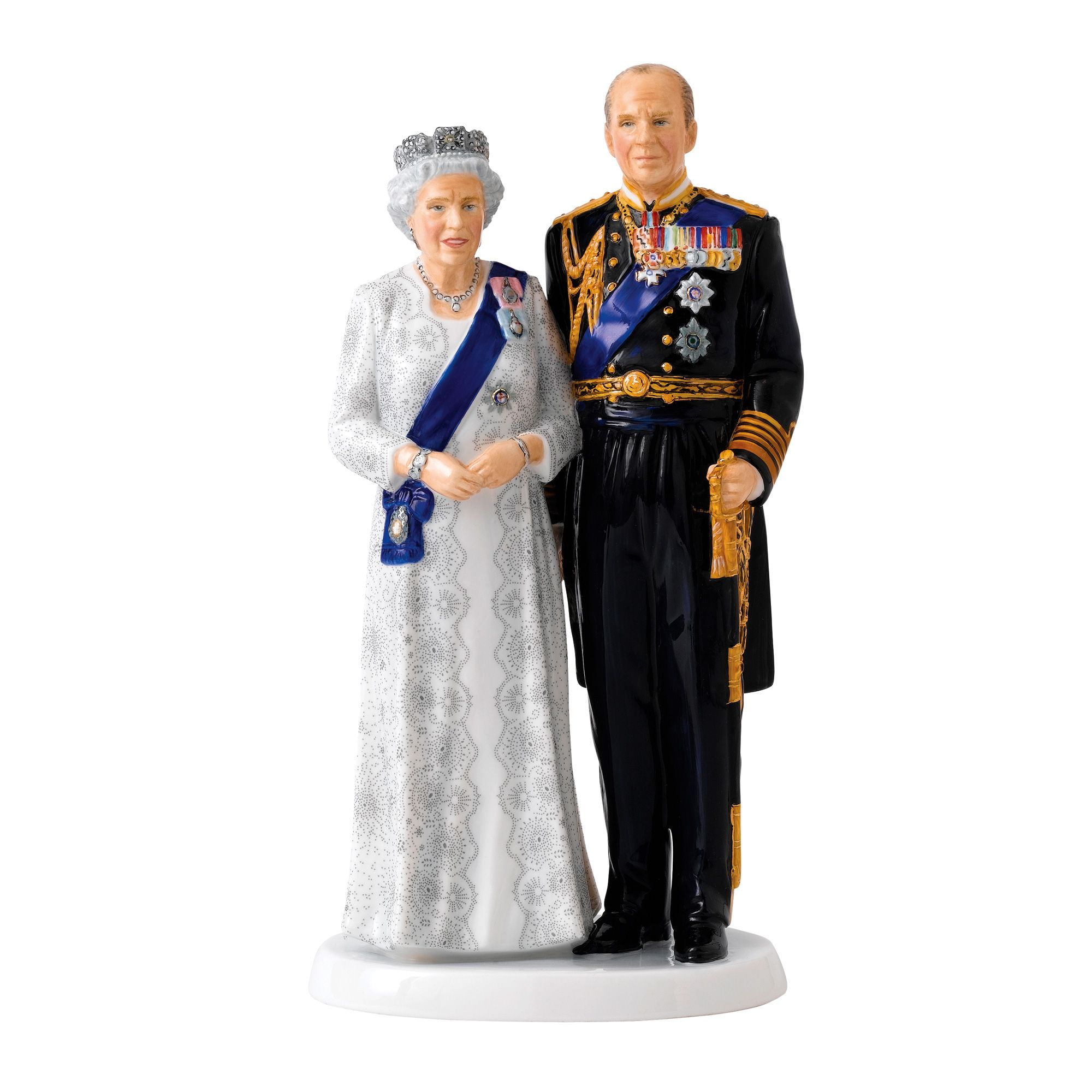 To commemorate the 70th wedding anniversary of Queen