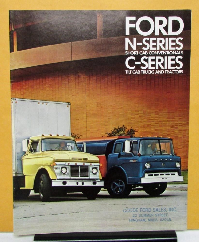 1969 Ford Trucks N C Series 500 550 600 700 750 850 950 1000 6000 Sales  Brochure | eBay Motors, Parts & Accessories, Manuals & Literature | eBay!