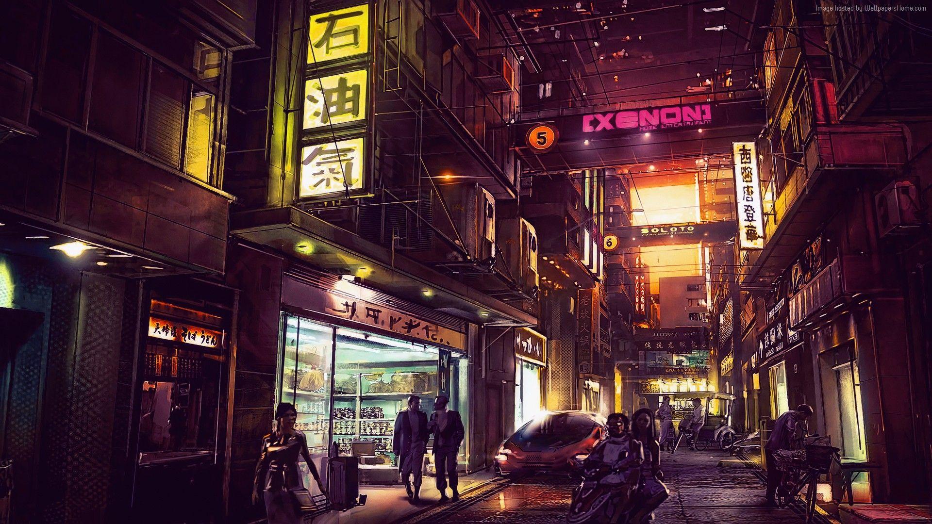 4k Wallpapers Hd Wallpapers Artwork Art Scifi Cyberpunk Neon City Futuristic Futuristic City Digital Wallpaper Cyberpunk