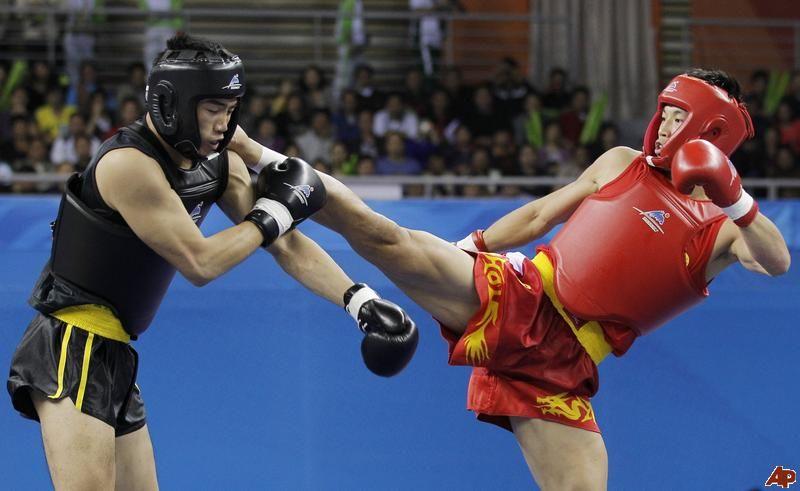 Image result for sanshou kickboxing