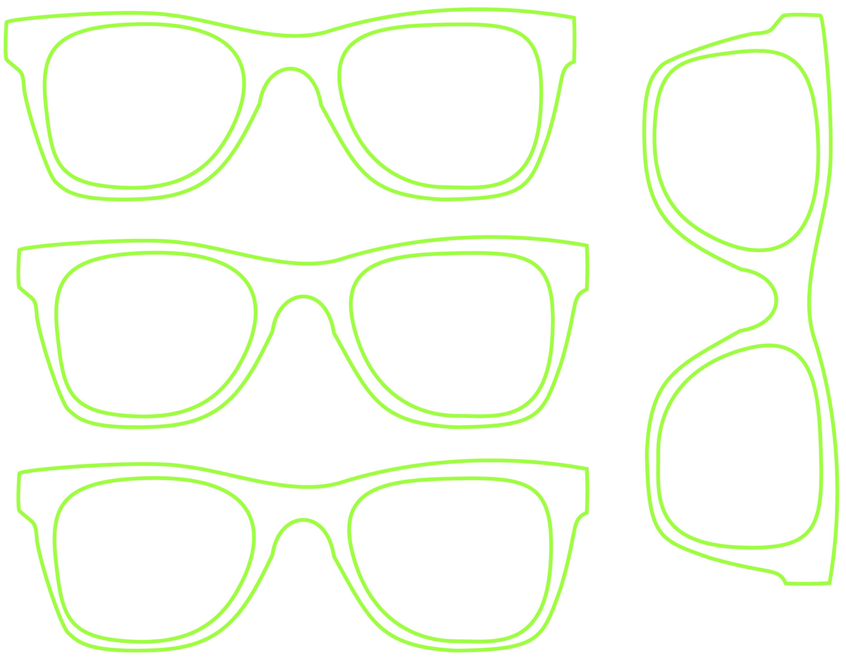 DIY Photo Props | Hipster glasses, Template and Cricut